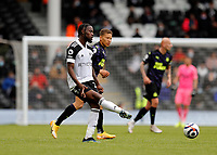 23rd May 2021; Craven Cottage, London, England; English Premier League Football, Fulham versus Newcastle United; Joshua Onomah of Fulham passing the ball into midfield