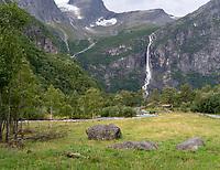 Briksdalbreen Glacier