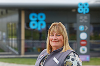 Store manager Louise Hughes.