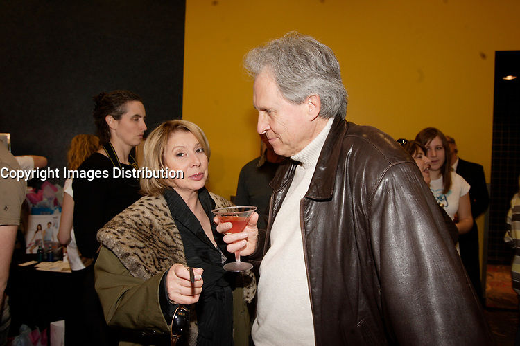 Montreal (Qc) Canada, May 3rd 2007<br /> <br /> Patsy Gallant (L), Pierre Brousseau (R)<br /> at the red carpet event to celebrate that<br /> Paramount become Scotia Bank Cinema<br /> <br /> photo : Pierre Roussel (c)  Images Distribution