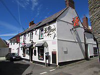 Pictured: The Red Lion pub in Cardigan, Wales, UK.<br />Re:  A man who took a replica 'James Bond' pistol into a pub is due to be sentenced today (Fri 18 Jan 2019) at Swansea Crown Court.<br />A scuffle broke out in Red Lion pub in Cardigan, west Wales on the evening of April 2, 2018 when a customer saw the imitation weapon in the waistband of Fraser Daniel Rees' trousers and tried to disarm him.<br />Rees claimed it was intended as a prop for his mother's amateur theatre production.<br />Rees denied possession of an imitation firearm in a public place – saying he had a reasonable excuse for having it with him and in any case had lawful authority to carry it – but was found guilty following a Swansea Crown Court trial.<br />The gun was a replica of a Walther PPK, the handgun made famous by actors Sean Connery and Roger Moore as James Bond.