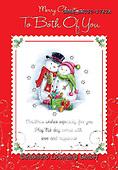 John, CHRISTMAS SANTA, SNOWMAN, WEIHNACHTSMÄNNER, SCHNEEMÄNNER, PAPÁ NOEL, MUÑECOS DE NIEVE, paintings+++++,GBHSSXC50-1782A,#x#