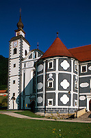 Slowenien, Olimje, Kloster und Schloss..