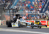 NHRA Mello Yello Drag Racing Series<br /> Route 66 NHRA Nationals<br /> Route 66 Raceway, Joliet, IL USA<br /> Sunday 9 July 2017 Shawn Langdon, Global Electronic Technology, top fuel dragster <br /> <br /> World Copyright: Mark Rebilas<br /> Rebilas Photo