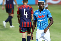 Victor Osimhen of SSC Napoli<br /> during the friendly football match between SSC Napoli and L Aquila 1927 at stadio Patini in Castel di Sangro, Italy, August 28, 2020. <br /> Photo Cesare Purini / Insidefoto