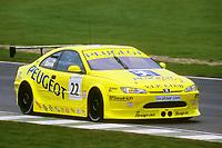 #22 Dan Eaves (GBR). Peugeot Sport UK. Peugeot 406 Coupé.