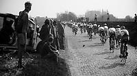 Dwars door Vlaanderen 2012.Holleweg drive-by