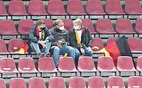 Vereinzelte Fans (insgesamt 300 erlaubt) im RheinEnergie Stadion<br /> - 07.10.2020: Deutschland vs. Tuerkei, Freundschaftsspiel, RheinEnergie Stadion Koeln<br /> DISCLAIMER: DFB regulations prohibit any use of photographs as image sequences and/or quasi-video.