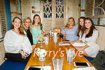 Enjoying the evening in Benners on Friday, l to r: Katie O'Connell, Niamh Prenderville, Mairead Walsh, Cliona Hurley, Ann McCarthy and Mary Rose Breen.