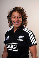 Justine Lavea. New Zealand Black Ferns headshots at The Rugby Institute, Palmerston North, New Zealand on Thursday, 28 May 2015. Photo: Dave Lintott / lintottphoto.co.nz