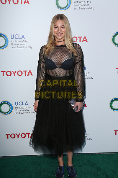 BEVERLY HILLS, CA - March 13: Allie Gonino, At The UCLA Institute Of The Environment And Sustainability Celebrates Innovators For A Healthy Planet At Private Resident In California on March 13, 2017. <br /> CAP/MPI/FS<br /> ©FS/MPI/Capital Pictures