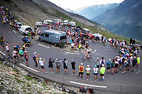 Polka Dots Jersey Tim Wellens (BEL/Lotto Soudal) up the Col du Galibier (HC/2622m/23km@5.1%)<br /> <br /> Stage 18: Embrun to Valloire (208km)<br /> 106th Tour de France 2019 (2.UWT)<br /> <br /> ©kramon