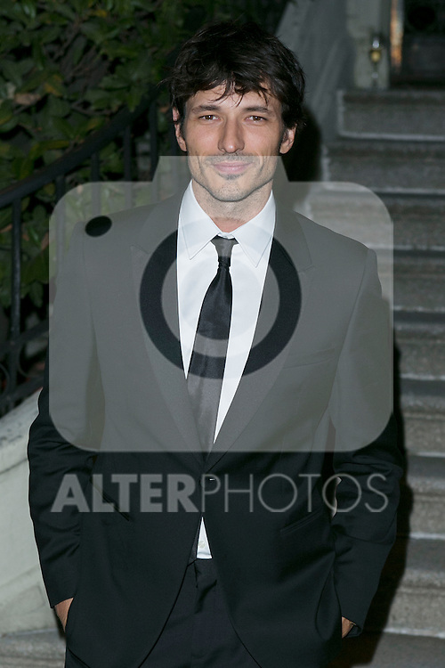 Andres Velencoso attend the Photocall of the ELLE STYLE AWARDS at Italian Embassy in Madrid, Spain. March 17, 2014. (ALTERPHOTOS/Carlos Dafonte)