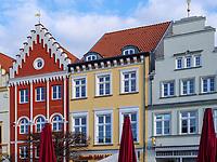Marktplatz in Greifswald ,Mecklenburg-Vorpommern, Deutschland, Europa<br /> market place, Greifswald, Mecklenburg-Hither Pomerania, Germany, Europe