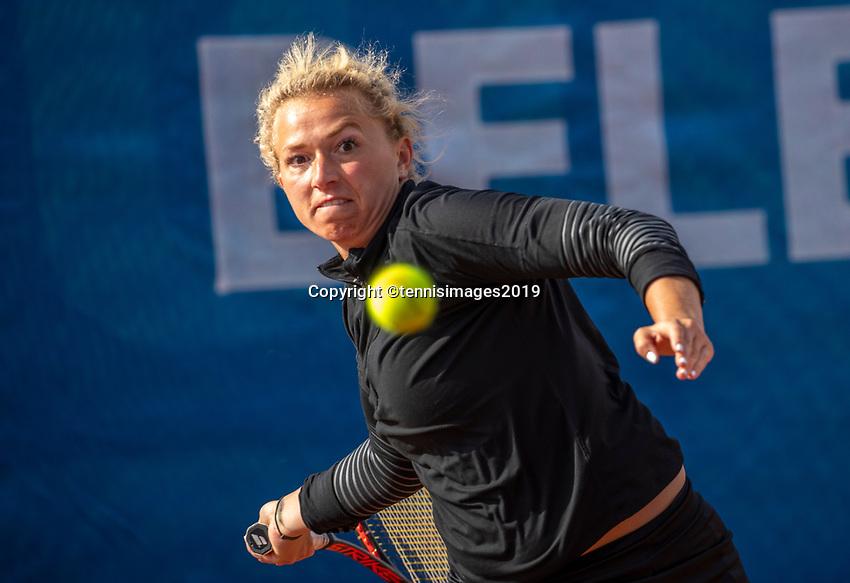 Zandvoort, Netherlands, 8 June, 2019, Tennis, Play-Offs Competition, Womans dubbles: Michaëlla Krajicek (R) (NED)<br /> Photo: Henk Koster/tennisimages.com