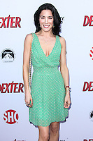 HOLLYWOOD, CA - JUNE 15: Jaime Murray arrives at the premiere screening of Showtime's 'Dexter' Season 8 at Milk Studios on June 15, 2013 in Hollywood, California. (Photo by Celebrity Monitor)