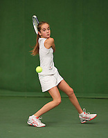 20131201,Netherlands, Almere,  National Tennis Center, Tennis, Winter Youth Circuit, Julie Belgraver   <br /> Photo: Henk Koster