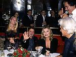 ISABELLA BORROMEO CON SPYROS NIARCHOS E ALBA PAIRETTI<br /> SERATA SMAILA AL JACKIE O' CLUB ROMA 2001