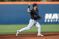 University of Washington Huskies Levi Jordan (26) in action against the Cal State Fullerton Titans at Goodwin Field on June 10, 2018 in Fullerton, California. The Huskies defeated the Titans 6-5. (Donn Parris/Four Seam Images)