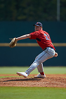 Dennis Colleran Jr. (21) of North Attleboro HS in North Attleboro, MA playing for the Boston Red Sox scout team during the East Coast Pro Showcase at the Hoover Met Complex on August 5, 2020 in Hoover, AL. (Brian Westerholt/Four Seam Images)