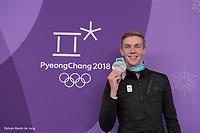 OLYMPIC GAMES: PYEONGCHANG: 24-02-2018, Gangneung Oval, Long Track, Bart Swings, ©photo Martin de Jong