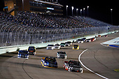 NASCAR Camping World Truck Series<br /> Ford EcoBoost 200<br /> Homestead-Miami Speedway, Homestead, FL USA<br /> Friday 17 November 2017<br /> Chase Briscoe, Cooper Standard Ford F150, Ben Rhodes, Safelite Auto Glass Toyota Tundra<br /> World Copyright: Michael L. Levitt<br /> LAT Images