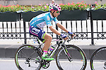 Race leader Kristijan Durasek (CRO) Lampre-Merida during Stage 8 of the 2015 Presidential Tour of Turkey running 124km from Istanbul to Istanbul. 3rd May 2015.<br /> Photo: Tour of Turkey/Mario Stiehl/www.newsfile.ie