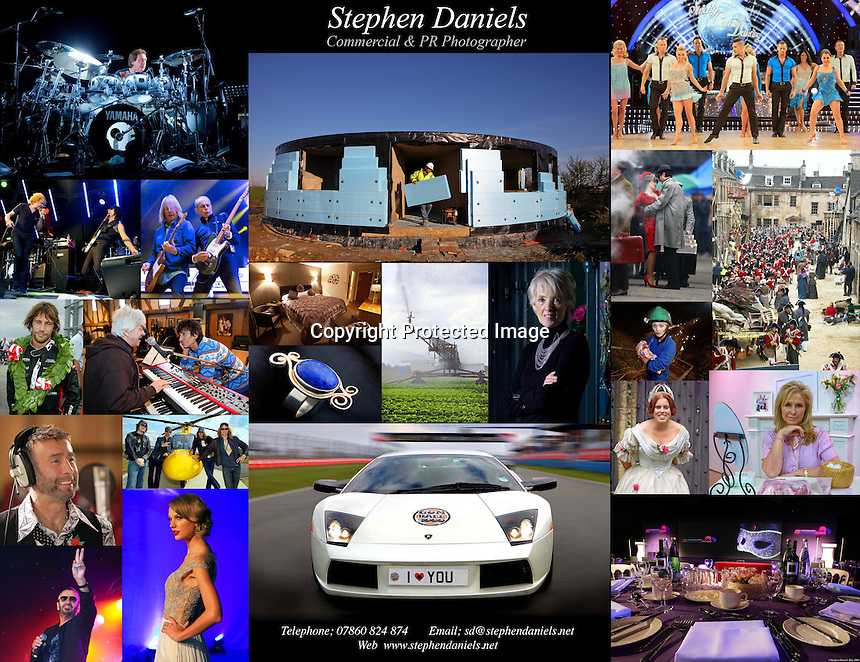 PHOTO BY © STEPHEN DANIELS <br /> Tel 07860 824 874