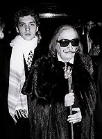 Salvidor Dali6897.JPG<br /> New York, NY 1978 FILE PHOTO<br /> Salvidor Dali<br /> Studio 54<br /> Digital photo by Adam Scull-PHOTOlink.net<br /> ONE TIME REPRODUCTION RIGHTS ONLY<br /> NO WEBSITE USE WITHOUT AGREEMENT<br /> 718-487-4334-OFFICE  718-374-3733-FAX