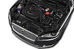Car Stock 2018 Lincoln MKZ Reserve 4 Door Sedan Engine  high angle detail view