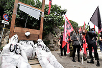 Stati generali dell'economia, protesta a Villa Pamphili