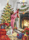 Marcello, CHRISTMAS CHILDREN, WEIHNACHTEN KINDER, NAVIDAD NIÑOS, paintings+++++,ITMCXM1244A,#xk#,fireplace,socks