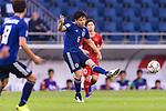 Endo Wataru of Japan in action during the AFC Asian Cup UAE 2019 Quarter Finals match between Vietnam (VIE) and Japan (JPN) at Al Maktoum Stadium on 24 January 2018 in Dubai, United Arab Emirates. Photo by Marcio Rodrigo Machado / Power Sport Images