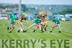 Action from Abbeydorney v Ballyduff in the Minor Hurling Championship semi final.