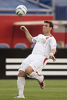 The MetroStars' Jeff Agoos. The New England Revolution defeated the MetroStars 4 to 2 at Gillette Stadium, Foxbourgh, MA, on June 25, 2005.