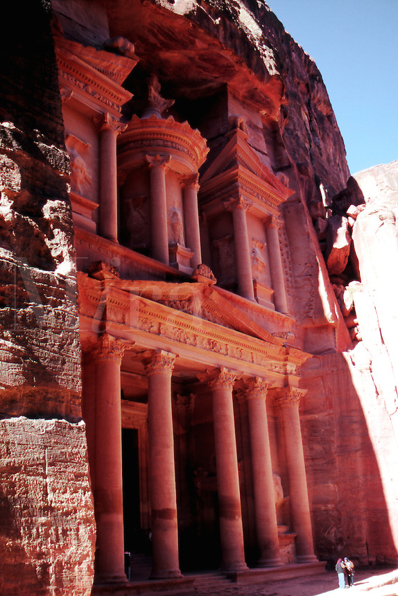 The Treasury ( El Khazneh ) Petra, Jordan..The Middle East