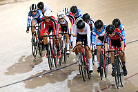 Women U19 Points race 15km during the 2020 Vantage Elite and U19 Track Cycling National Championships at the Avantidrome in Cambridge, New Zealand on Saturday, 25 January 2020. ( Mandatory Photo Credit: Dianne Manson )