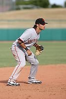 Brandon Crawford - Scottsdale Scorpions, 2009 Arizona Fall League.Photo by:  Bill Mitchell/Four Seam Images..