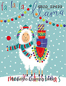 Patrick, CHRISTMAS ANIMALS, WEIHNACHTEN TIERE, NAVIDAD ANIMALES, paintings+++++,GBIDSP699,#xa#