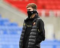 James Garner of Watford looks around the  Madejski Stadium during Reading vs Watford, Sky Bet EFL Championship Football at the Madejski Stadium on 3rd October 2020
