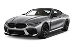 2020 BMW M8 M8-Competition 2 Door Coupe Angular Front automotive stock photos of front three quarter view