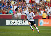 Michael Bradley of the USA carries the ball against El Salvador during a World Cup Qualifying match at Rio Tinto Stadium, in Sandy, Utah, Friday, September 5, 2009.  .The USA won 2-1..