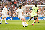 Real Madrid's Isco and Manchester City's Yaya Toure during Champions League 2015/2016 Semi-Finals 2nd leg match at Santiago Bernabeu in Madrid. May 04, 2016. (ALTERPHOTOS/BorjaB.Hojas)