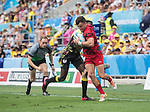 Rugby 7's Wales v Uganda