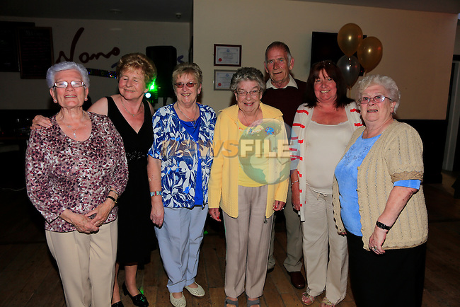Olivia Caffrey Annette McKenna Kathleen Callaghan olive Levins 70 GERRY Levins Bernadette Coyle Betty Levins<br /> Picture:  Andy Spearman www.newsfile.ie