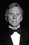 Kirk Douglas attends a Gala on March 1, 1980 in New York City.