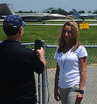 Practice day and a couple of media rides at 2016 Vectren Dayton Air Show.