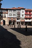 Europe/Espagne/Pays Basque/Guipuscoa/Fontarrabie: La place de Guipuzcoa