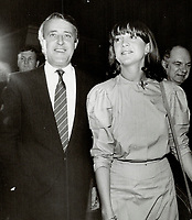 1984 FILE PHOTO - ARCHIVES -<br /> <br /> Brian  Mulroney,<br /> Mila,Mulroney,<br /> <br /> 1984<br /> <br /> PHOTO :  Erin Comb - Toronto Star Archives - AQP