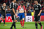 Atletico de Madrid Kevin Gameiro during UEFA Champions League match between FK Qarabag and Atletico de Madrid at Wanda Metropolitano in Madrid, Spain. October 31, 2017. (ALTERPHOTOS/Borja B.Hojas)